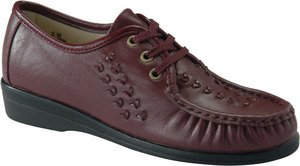 (Softspots Women's Bonnie Lite Shoes,Wine,9 C/D US)