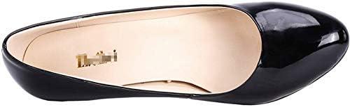 Ni Womens Custom-Made Patent Leather Slip On Bridesmaid Dress Pumps