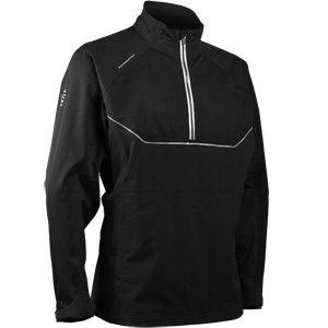 (Sun Mountain Tour Series Long Sleeve Golf Pullover Black Medium)