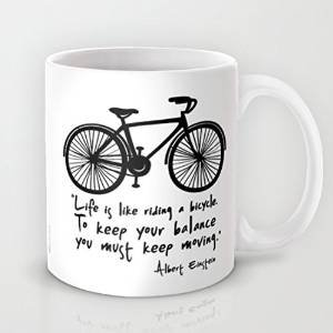 Bike And Inspirational Quotes Coffee Mugs 11 Oz Birthday Gifts For
