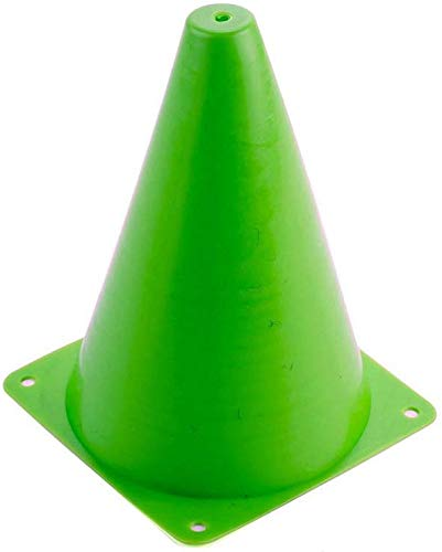 AUOON 24//Set Soccer Cones,Plastic Traffic Cone,Indoor//Outdoor Agility Cones Sports Soccer Flexible Cone Sets with 7 Tall for Kids,Construction,Sports Training,6 Colors