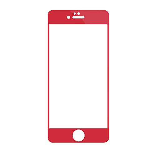 iphone 4 front glass red - 3