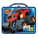 The Tin Box Company Large Carry All Tin Lunchbox (Blaze And The Monster Machines Win It)