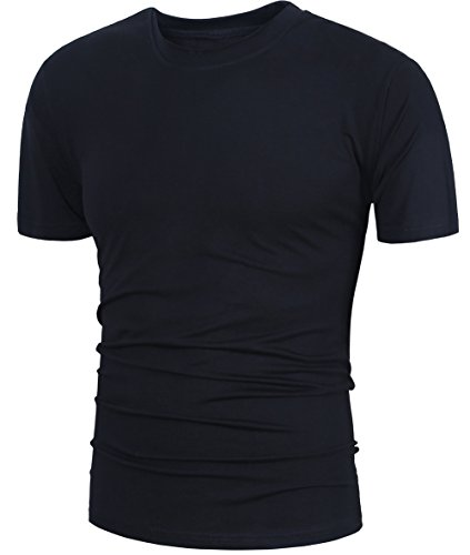 GARSEBO Men's Short-Sleeve Beefy T-Shirt