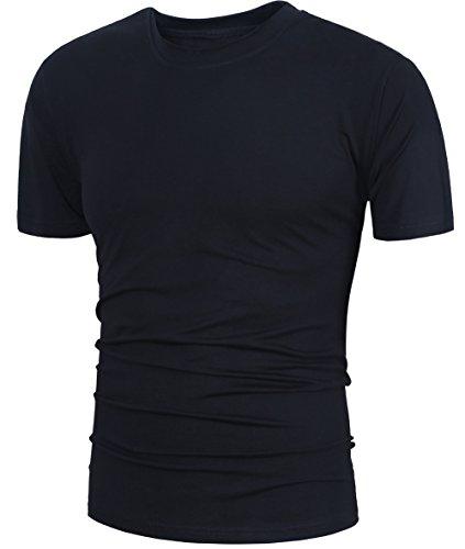 GARSEBO Men's Short-Sleeve Beefy T-Shirt