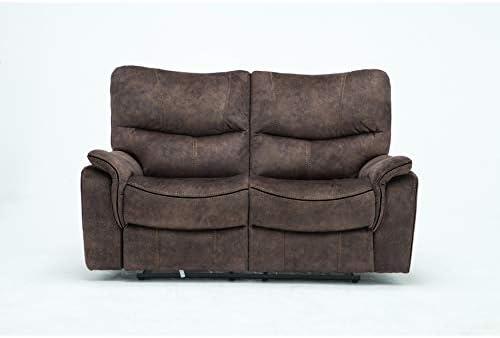 Blackjack Furniture 7167 Charlton Collection Palomino Modern Reclining Living Room