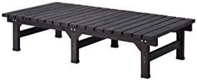 ダークブラウン/Abelia Bench 180×90 デッキ縁台 縁台 ウッドデッキ デッキ シンプル ブラウン お手軽 便利