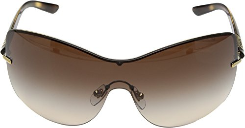 DKNY Women's Metal Woman Square Sunglasses, Pale Gold, 38 mm