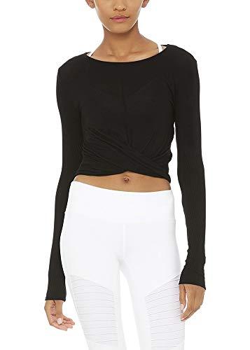 Bestisun Long Sleeve Crop Top Workout Shirts Cropped Long Sleeve Tops for Women