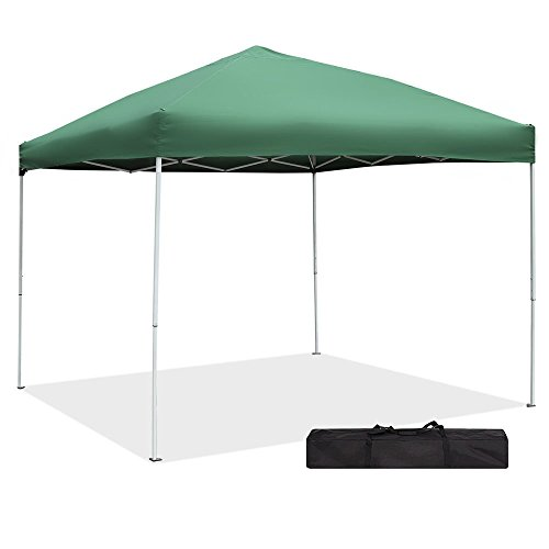 Green Garden Pop up Canopy Tent - 10 x 10 UV Proof Party Ten