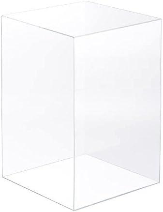 アクリサンデー アクリBOX ボックス 100mm×100mm×高さ200mm 板厚 3mm 透明 AB-7