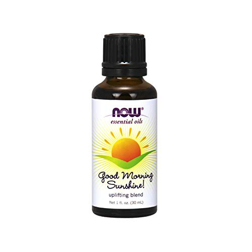 Now Essential Oils, Good Morning Sunshine Aromatherapy Blend, Soothing Aromatherapy Scent, Blend of Pure Essential Oils, Vegan, 1-Ounce ()