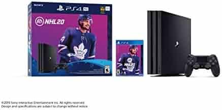 Sony PlayStation 4 1TB Pro Console - NHL 20 Bundle Edition - PlayStation 4