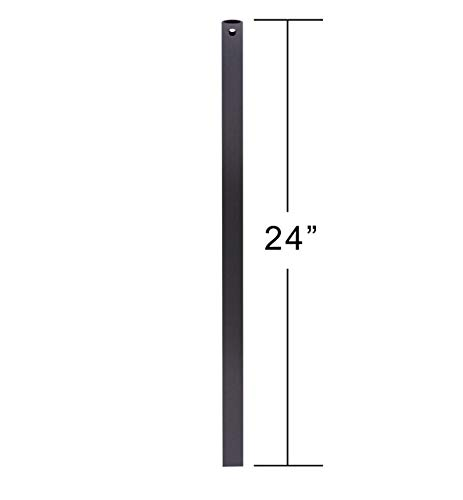 Emerson CFDR2BQ Ceiling Fan Downrod, 24-Inch Long, Barbeque