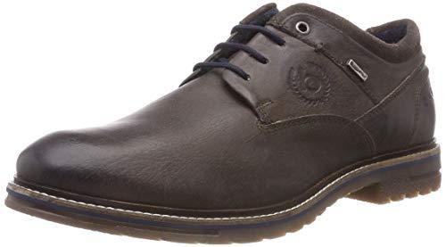 1111 Grey Derby Zapatos Para 11 Gris Hombre 3 21618e De Grey Dark dark Bugatti Cordones xqtgY6wPxT