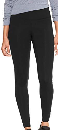 GAP Womens GapFit Leggings, True Black ()