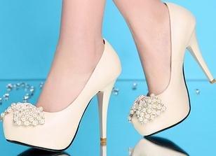 Laruise Women's Pump Single Shoes Beige L5nWN