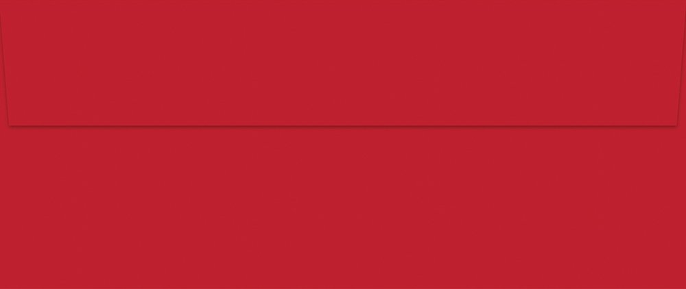 Great Papers! Bright Red #10 Envelope, 9.5x4.125, 25 Count (982025) 9.5x4.125