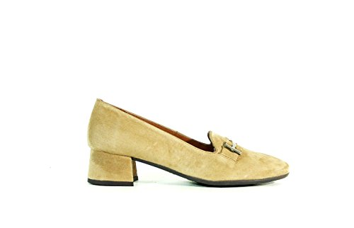 Hispanitas, Mocasines Mujer Color Topo Beige