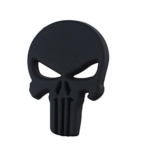 [해외]Pentisher의 Quentacy 3D 금속 데칼 자동차 오토바이 차량 해골 스티커/Quentacy 3D Metal Decal Car Motorcyce Vehicle Skull Sticker of Punisher