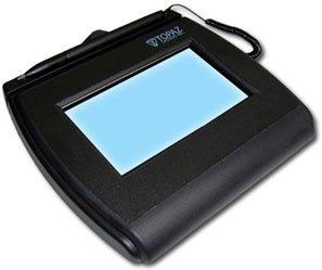 Topaz T-LBK750-BHSB-R Backlit 4x3 LCD Signature Capture Pad - (Refurbished)