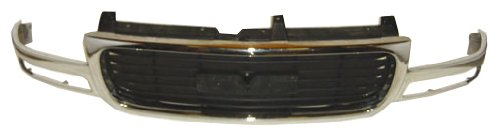 OE Replacement GMC Grille Assembly (Partslink Number GM1200430)