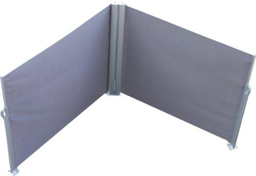 Leco Doppel-Seitenmarkise, anthrazit