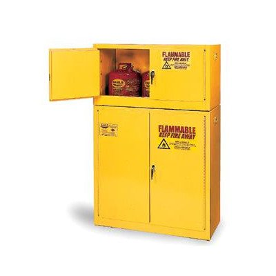 4 Gallon Flammable Safety Storage Cabinet Door Type: Self Closing