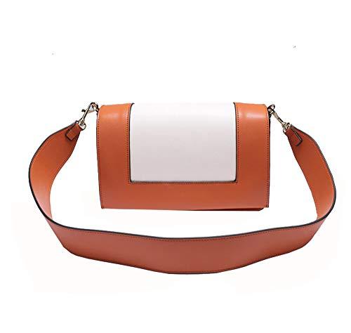 Xuanbao Ladies Leather Square Fashion Female Womens Totes Storage Handbags Matching Diagonal Small Shoulder Crossbody Contrast Tote Bags Bag Color Women's Hobo rE7rqwB6x