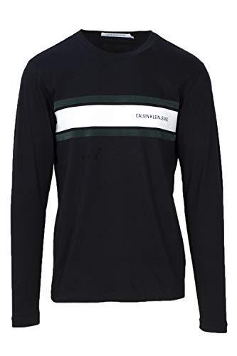 Calvin Klein - J30J309586 - Camiseta Manga Larga Negro