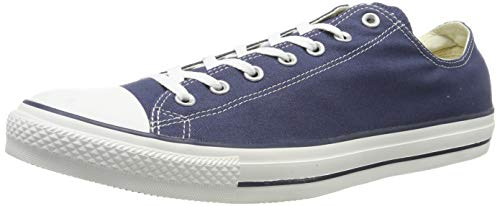 Converse Unisex Chuck Taylor All Star Low Top Navy Sneakers - 8 B(M) US Women / 6 D(M) US Men
