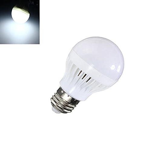 Global E27 control de la luz del sensor de movimiento 5w sonido SMD 5730 LED bombilla