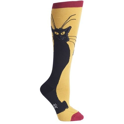 420c84aa117 Sock It To Me Chat Noir Knee High Socks  Amazon.in  Clothing   Accessories