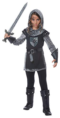 Noble Knight Gladiator Renaissance Child Girls Costume