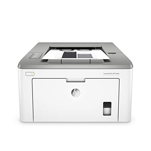 HP Laserjet Pro M118dw Wireless Monochrome Laser Printer with Auto Two-Sided Printing, Mobile Printing & Built-in Ethernet (4PA39A) (Brother Wireless Laser)