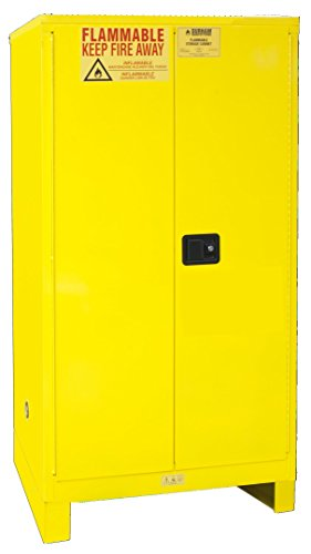 Durham 1060ML-50 Flammable Safety Cabinet with 2 Manual Door and Legs, 34