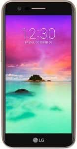 "K10 BY LG - M250 (2017) 16GB, Dual Sim, 5.3"", GSM Unlocked International Model, No Warranty Gold Black"