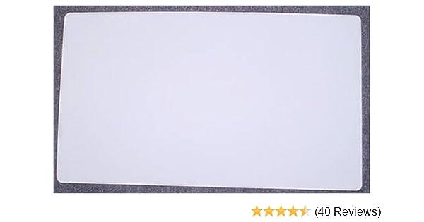 10 Black Blank Multipurpose Playmat Play Mat Game PAD MAT 1//16 INCH Thick