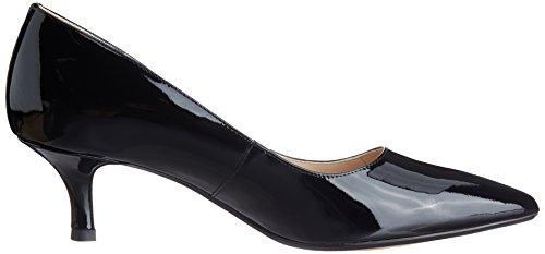 Clarks Aquifer Soda, Zapatos de Tacón para Mujer Negro (Black Pat)