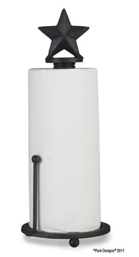 - Blackstone Black Paper Towel Holder by Park Designs