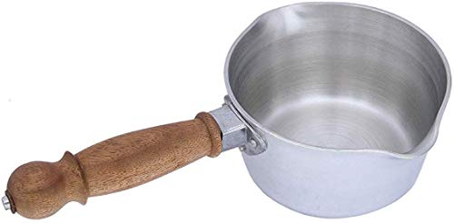 Dharam Paul Traders®Extra Heavy Aluminum Two Lip Wooden Handle Saucepan/Tea pan for Kitchen,Heavy Weight,1.2 liters Capacity. Price & Reviews