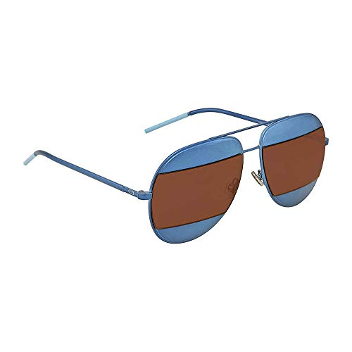 New Dior Sunglasses Mens DIOR SPLIT 1/S Blue Y4ERD DIORSPLIT1/S ()