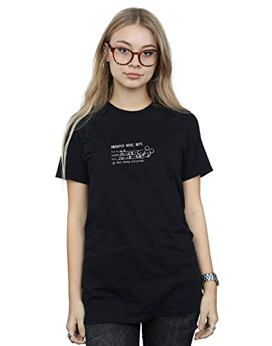 Mickey Camiseta Negro Disney large Fit Mujer Xxx Dept Character Novio Del Mouse Model xfCUOwCAq