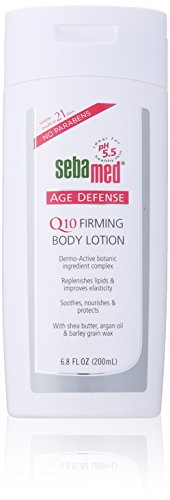 - Sebamed Age Defense Q10 Firming Body Lotion pH 5.5 with Dermo-Active Complex 6.8 Fluid Ounces (200 Milliliters)