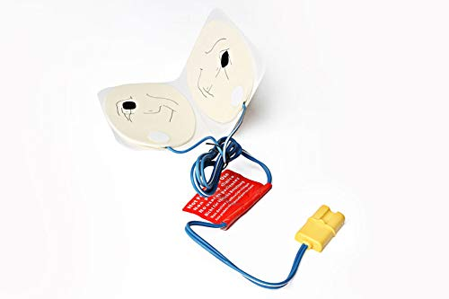 5-Pack of Training Electrode Pads for the Red Cross AED Trainer