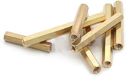 Hexagonal Brass PCB Standoffs Spacers Screw M2X10mm 200Pcs 3//4//5//6//7//8//9//10-25Mm 200Pcs 2Mm//2.5Mm Hex Brass Screw Female To Female M2//M2.5L