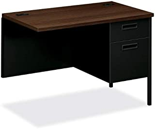 "product image for Hon Right Pedestal Return Desk, 42"" x 24"" x 29-1/2"", Black"