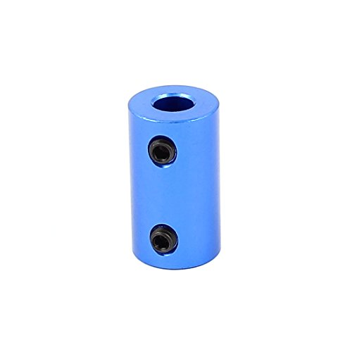 Uxcell a15102700ux1226 6mm to 6mm Aluminium Alloy Motor DIY Shaft Coupling Joint Connector