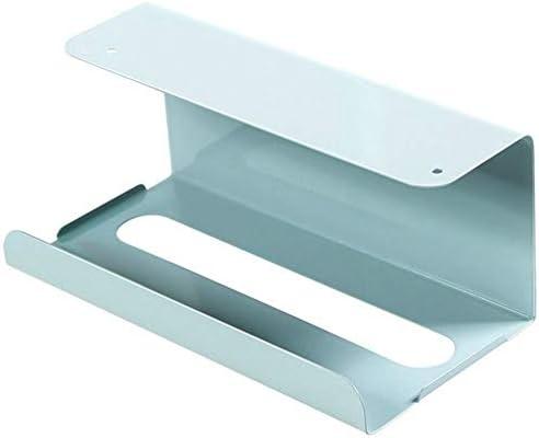 XISTORE Küchenschrank Papierregal Küchenregal Papierhandtuchhalter Toilettenpapierspender Schrank Unterregal Ablageregal Badezimmer Handtuchhalter Papierhalter Halter Japanischer Stil blau