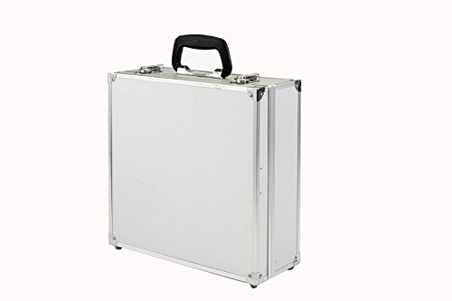 Logan Graphics Aluminum Paint Organizing and Storage Case-Paint Box-Paint Carrier-Best Paint Storage Kit by Logan Graphics